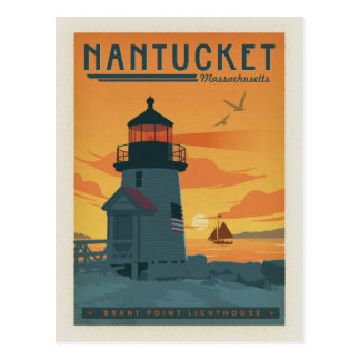 Nantucket, MA Postcard