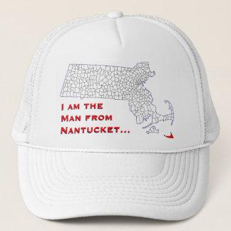 Nantucket Man Trucker Hat