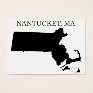 Nantucket Massachusetts Business Card