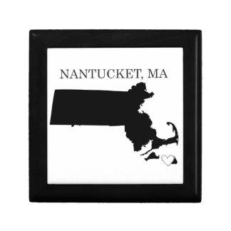 Nantucket Massachusetts Caja De Regalo
