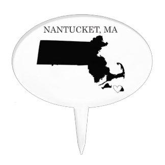 Nantucket Massachusetts Cake Pick