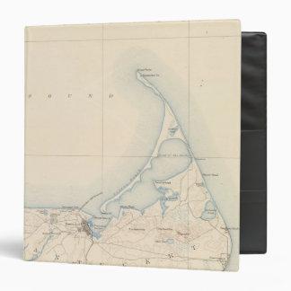 "Nantucket, Massachusetts Carpeta 1 1/2"""