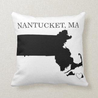 Nantucket Massachusetts Almohadas