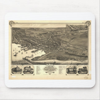 Nantucket, Massachusetts in 1881 Mouse Pad