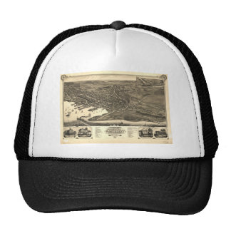 Nantucket, Massachusetts in 1881 Trucker Hat