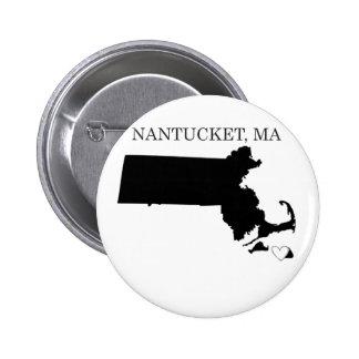 Nantucket Massachusetts Pins
