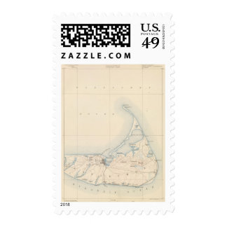 Nantucket Massachusetts Postage Stamps
