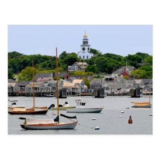 Nantucket Massachusetts, postal de Cape Cod