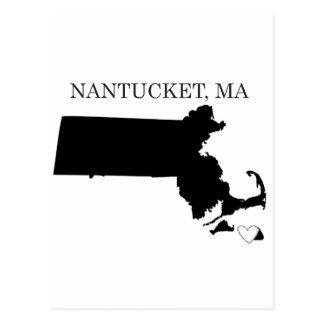 Nantucket Massachusetts Postcard