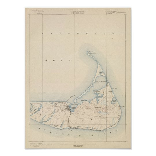 Nantucket, Massachusetts Poster