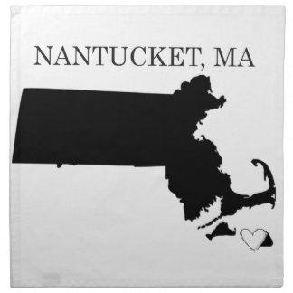 Nantucket Massachusetts Servilleta
