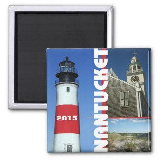 Nantucket Massachusetts Travel Magnet Change Year