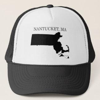 Nantucket Massachusetts Trucker Hat