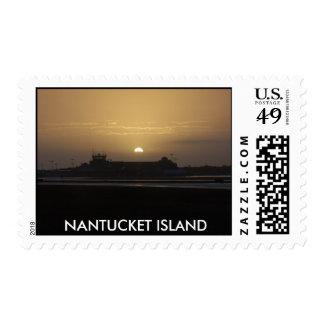 Nantucket Memorial Airport Stamp