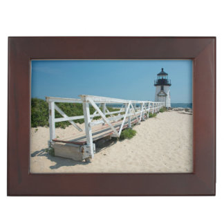 Nantucket. Old Wooden Lighthouse Keepsake Boxes