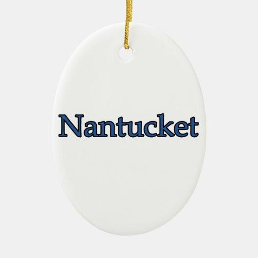Nantucket Ornamentos De Navidad