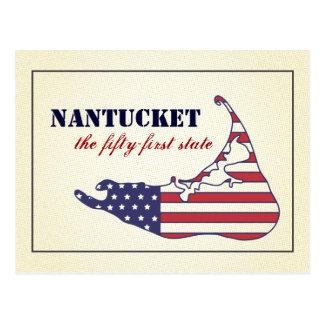 Nantucket patriótico, el 51.o estado de América Postal
