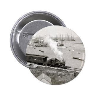 Nantucket Railroad Buttons
