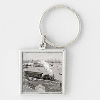 Nantucket Railroad Keychain