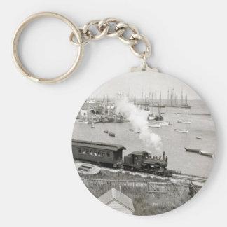 Nantucket Railroad Key Chains