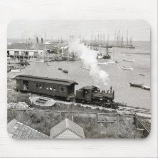 Nantucket Railroad Mousepads