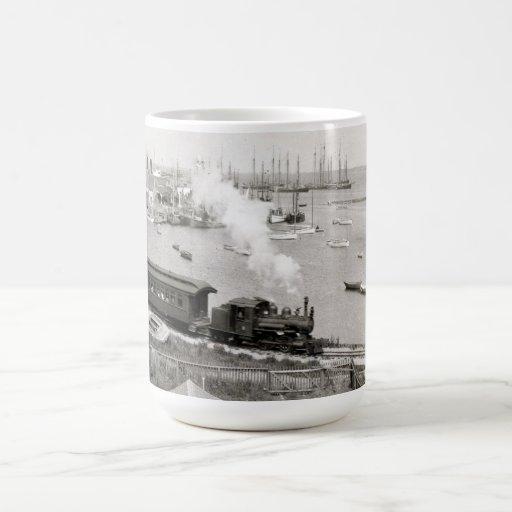 Nantucket Railroad Mugs