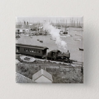 Nantucket Railroad Pinback Button