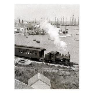 Nantucket Railroad Postcard