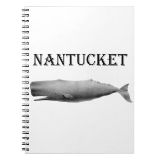 Nantucket Sperm Whale Spiral Notebooks