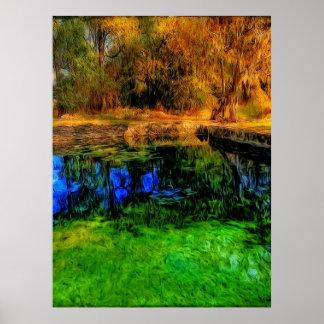 Nantze Springs Pool Poster