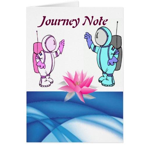 Nanu Journey Note Greeting Card