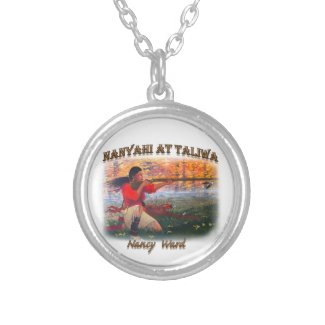 Nanyahi and the Legend of Nancy Ward Silver Plated Necklace