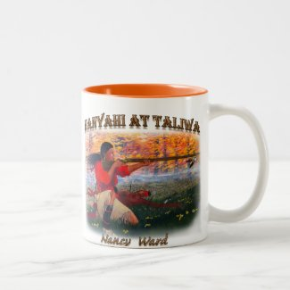 Nanyahi and the Legend of Nancy Ward Two-Tone Coffee Mug
