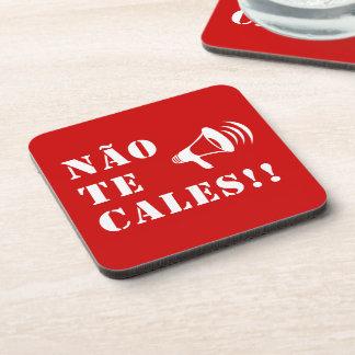 Não Te Cales!! Beverage Coaster