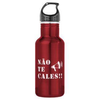 Não Te Cales!! Stainless Steel Water Bottle