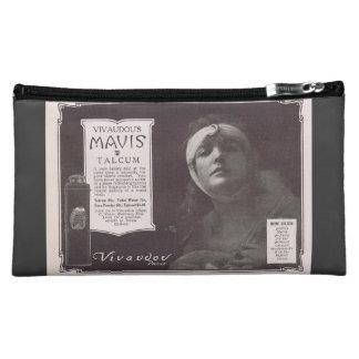 Naomi Childers Talcum powder advertisement films Makeup Bags