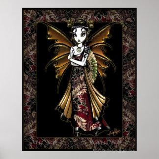 """""""Naomi"""" Oriental Fairy Poster"""