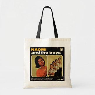 Naomi & The Boys tote bag
