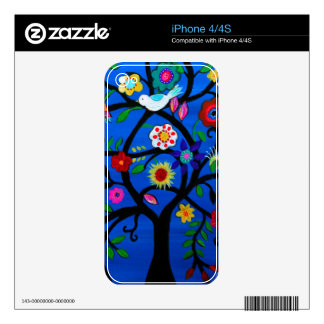 NAOMI'S TREE OF LIFE SKINS FOR iPhone 4S