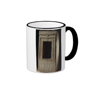 Naos chapel dedicated to the goddess Isis by Ptole Ringer Coffee Mug