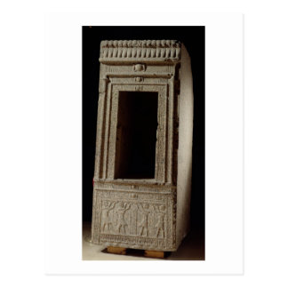 Naos chapel dedicated to the goddess Isis by Ptole Postcard