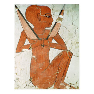 Naos deity, from the Tomb of Nefertari Postcard
