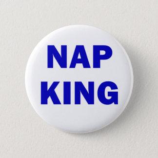Nap King Pinback Button