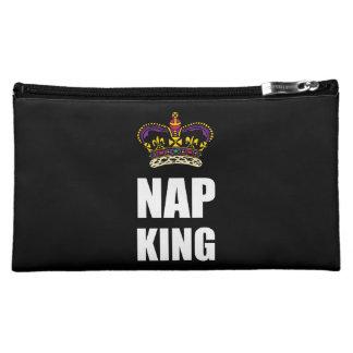 Nap King White Cosmetic Bag