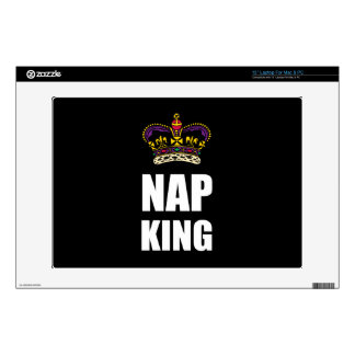 Nap King White Decals For Laptops