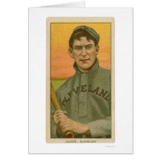 Nap Lajoie Baseball Card 1910