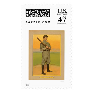 Nap Lajoie Cleveland Baseball 1911 Postage Stamp