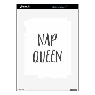Nap Queen Saying iPad 2 Skin
