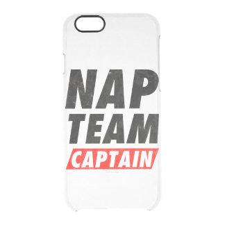 Nap Team Captain Clear iPhone 6/6S Case