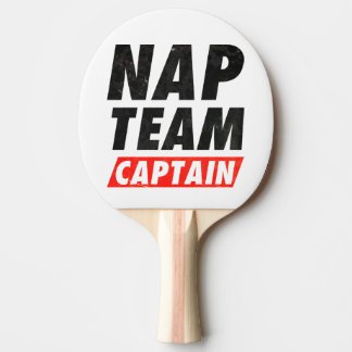 Nap Team Captain Ping Pong Paddle
